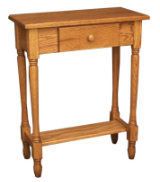 Hall Table, w/drawer-Country