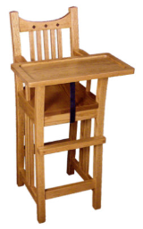 Child's Highchair, Royal Mission