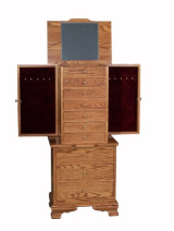 Jewelry Armoire, Clock Base