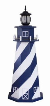 Stripe Garden Lighthouse