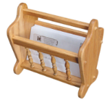 """Magazine Rack"" Letter/Napkin Holder"