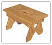 Little Wooden Benches