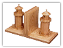 Bookends / Wooden