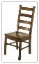 Desk Chair, Ladder Back - Adult