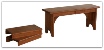 Extension Bench, Plain