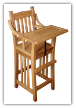 Child's Highchair, Reg. Mission