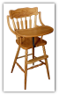 Child's Highchair, Wheat