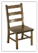 Child's chair, Ladder Back