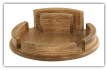 Lazy Susan w/Solid Rail & Napkin Holder