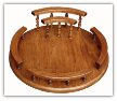 Lazy Susan w/Napkin Holder