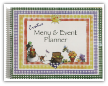Menu Planner /Event Book