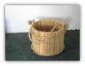 Wooden Bucket Planters/Wishing wells